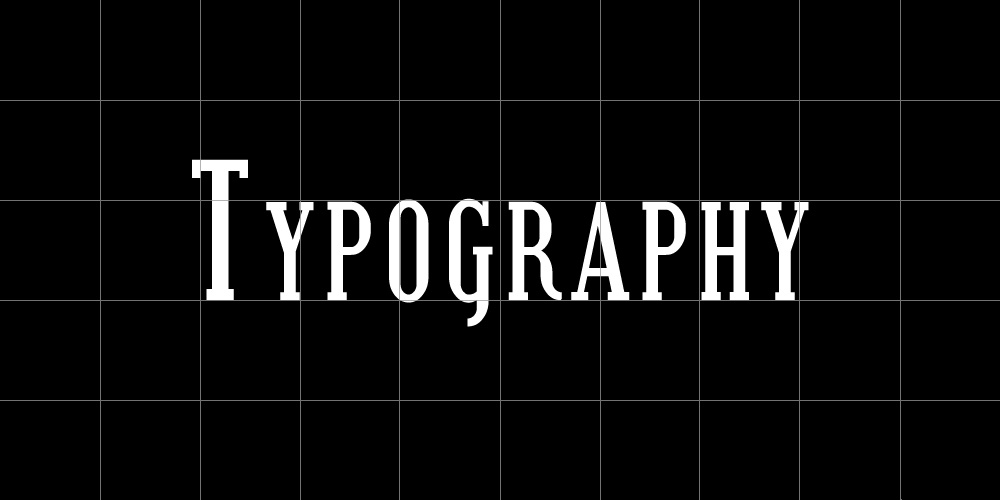 using a grid for typography design